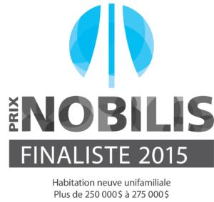 Nobilis 2015 - Plus de 250 à 275 - finaliste