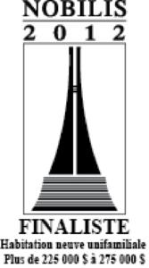 Nobilis 2012 - 225 à 275 - Finaliste