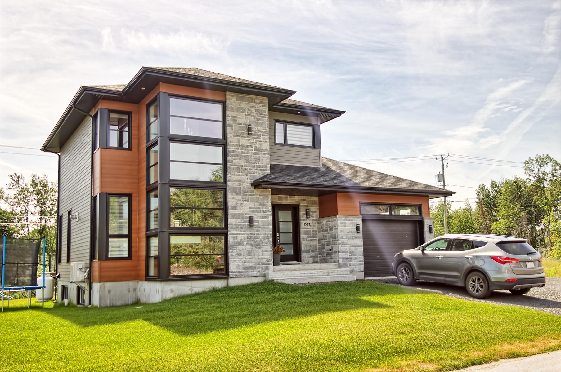 C 325 facade for Modele maison nicolas