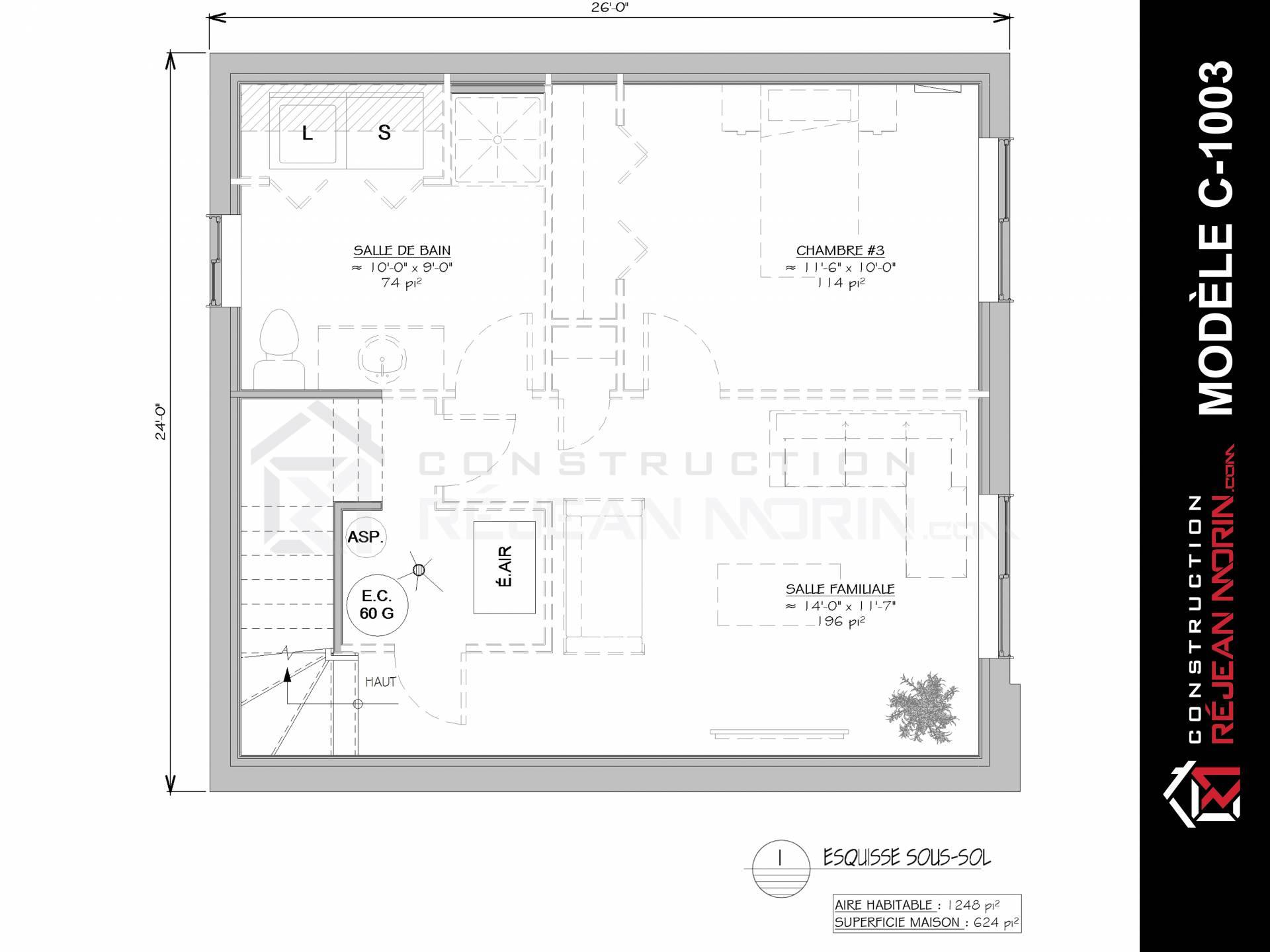Mod le de maison 2 tages construire st nicolas for Modele maison nicolas