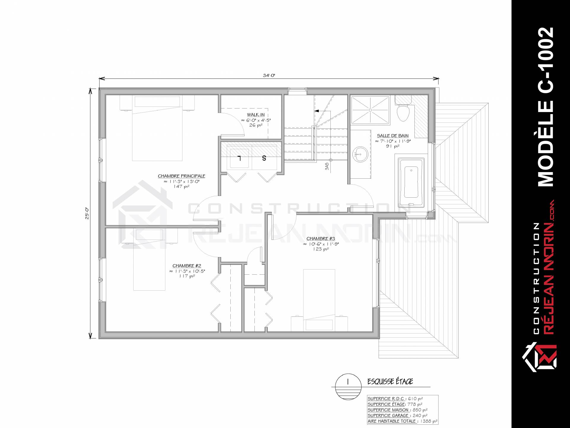 Petite Salle De Bain Avec Laveuse Secheuse ~ mod le de maison 2 tages avec garage construire st henri de l vis